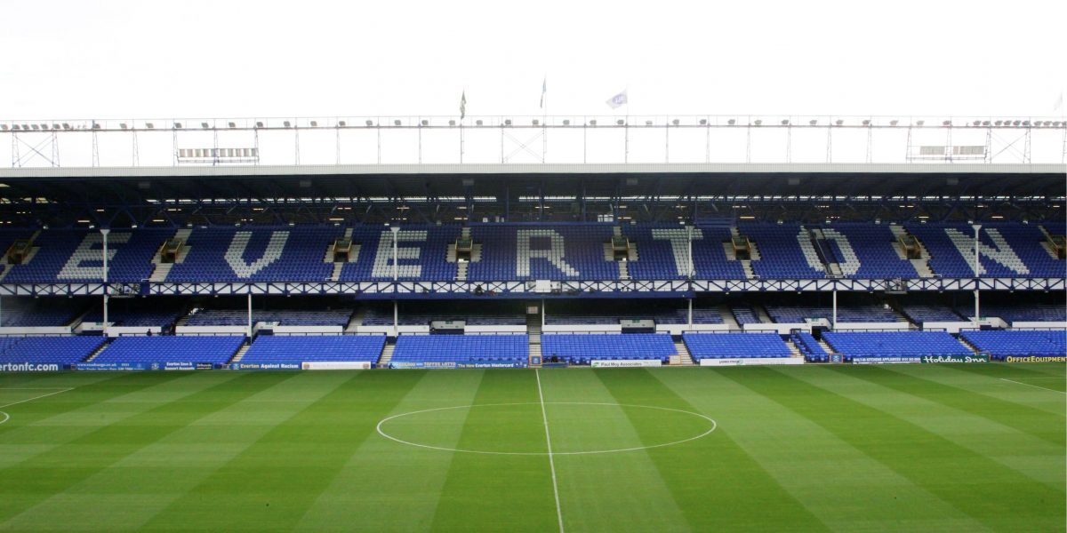 Goodison Park, home of Everton Football Club