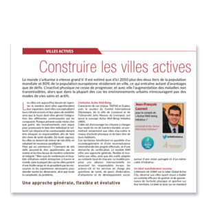An article about the Global Active City model from the Sport et Citoyenneté journal (in English and French)