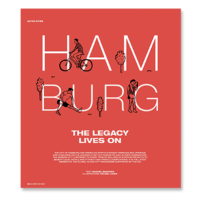 An article from the Olympic Review about Hamburg