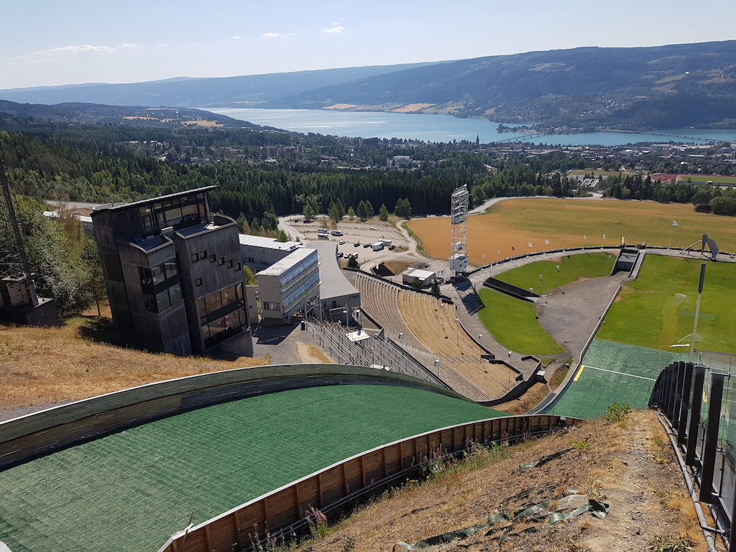 Outdoor sports facilities in Lillehammer.