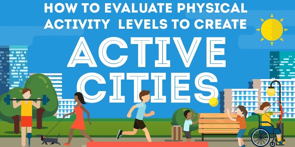 Illustration of active residents: How to evaluate activity levels to create active cities
