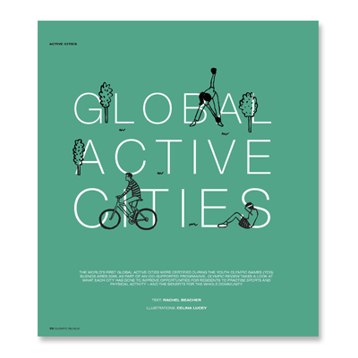 An article from the Olympic Review about the world's first Global Active Cities
